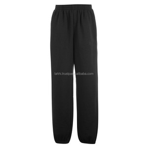 Plain Black Slim Sweat Pant