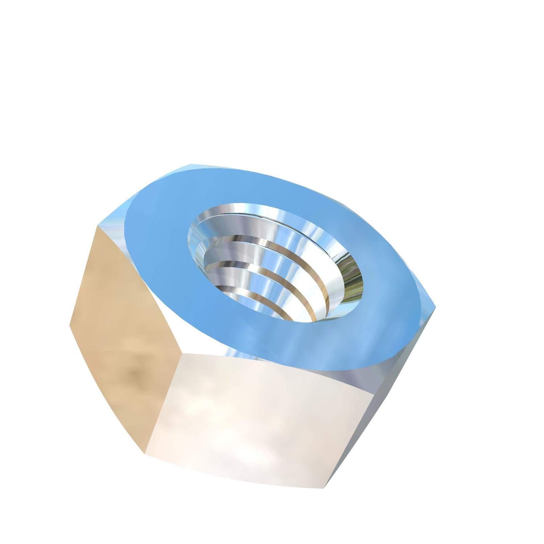 Allied Titanium 0000239, (Pack of 20) 1/4-20 UNC Titanium Hex Nut, Grade 5 (Ti-6Al-4V)