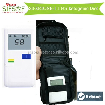Ketonen en la diabetes mellitus de sangre