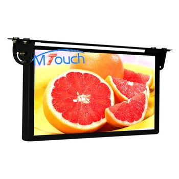 18.5 inch 21.5 inch 12v mini bus roof mount lcd led android flat screen tv monitor