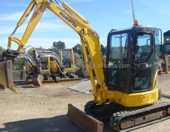 Used Komatsu Pc30 Mini Excavator,3 Ton Mini Excavator With Rubber  Tracks,Also Pc35 For Sale - Buy Used Mini Komatsu Excavator,Komatsu  Excavator Pc30,3