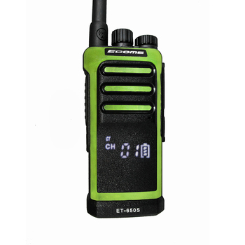 ECOME ET-650S Outdoor Simulated handheld transceiver