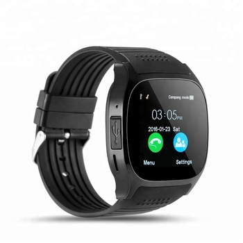 T8 1.54 Inch Touch Screen BT Smartwatch With Camera Facebook Whatsapp Support SIM TF Card Call Android Smart Watch
