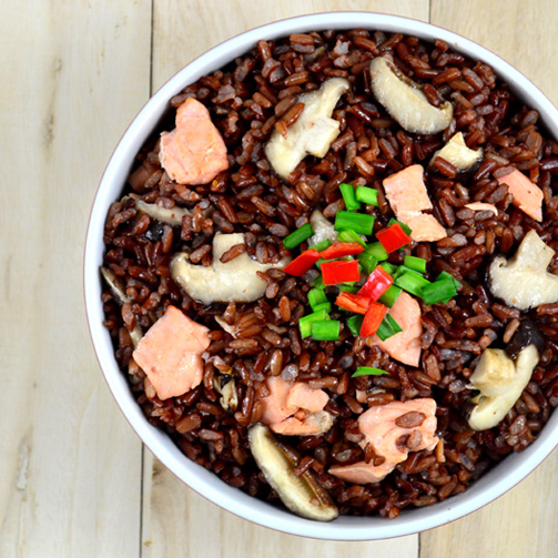 ORGANIC RED RICE 1KG FOR SUPERMARKET - MS. JESSIE (VILACONIC)