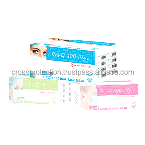 120 pack surgical disposable face masks