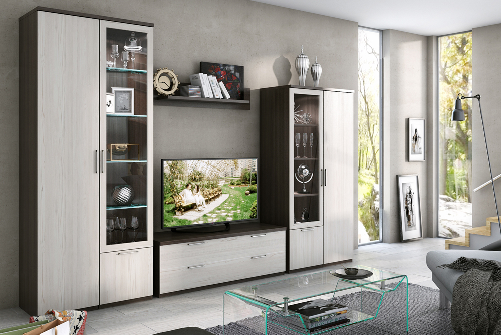 New Model Modern Living Room Set Tv Stand Cabinet Made In Russia  Combination Of Two Colors - Buy Living Room Set,Living Room,Furniture  Living Room ...