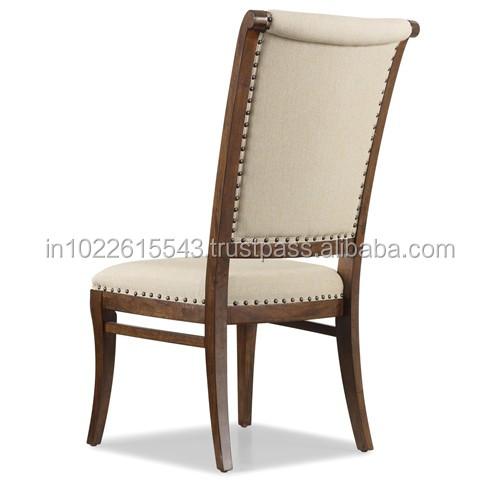 Almofada Cadeira De Jantar De Madeira De Manga Com Lona Industrial Buy Wood Design Dining Chair Dining Chairs With Armrests Wooden Dining Chair With Cushion Product On Alibaba Com