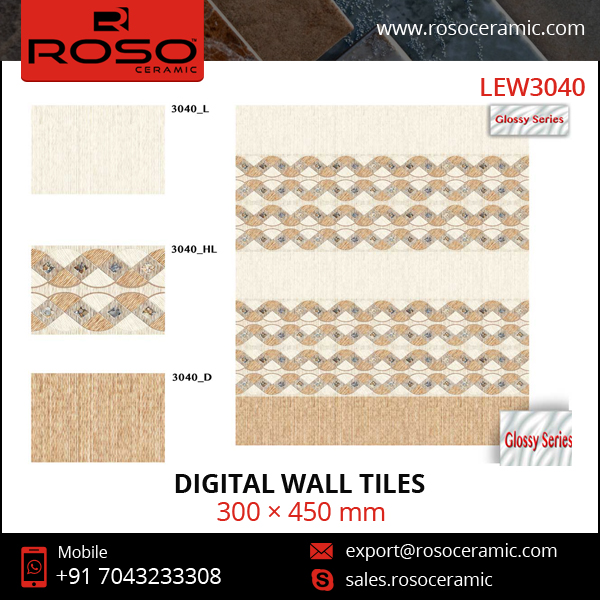 Wide Range of Standard Ceramic Wall Tile Sizes