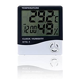 OXA Indoor Humidity Monitor with Temperature Gauge Humidity Meter
