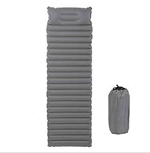 Super Lightweight Multipurpose TPU Inflatable Outdoor Sleeping Air Mattress , Cushion with Build-in Pillow and Pack Bag,Waterproof Material for Outdoor Activities Hiking ,Camping