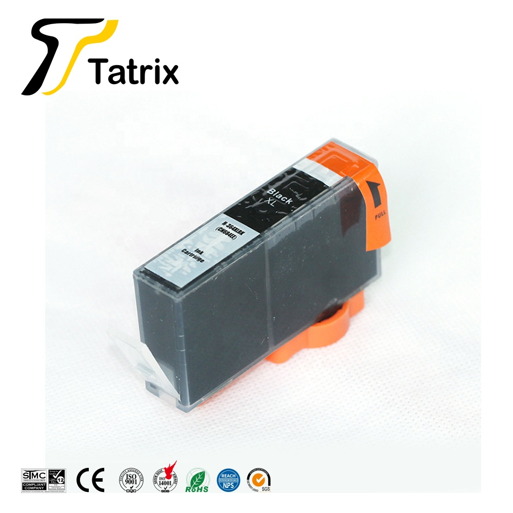 Tatrix 364 364XL Premium Compatible Color Inkjet Ink Cartridge for HP Deskjet 3070A Printer