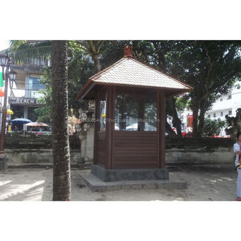 Customized Wooden Security Guard House with Knock Down System