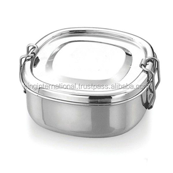 e860a5d2cb64 Stainless Steel Square Lunch Box - Buy Stainless Steel Square Lunch  Box,Small Lunch Box,Steel Metal Lunch Box Product on Alibaba.com
