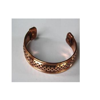 Magnetic Copper Bracelet With Round