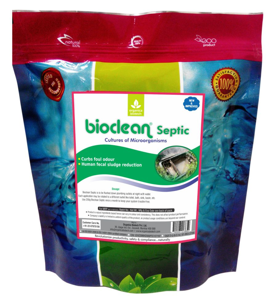 Biologically active septic tank treatment products <strong><u>Bioclean Septic</u></strong><strong>Benefits:</strong>