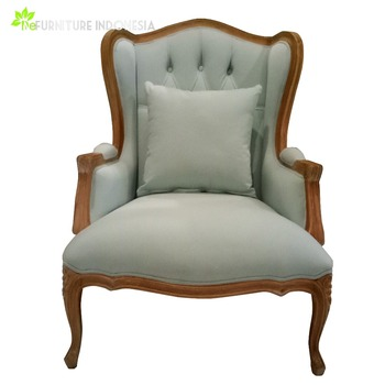 Luxury Fancy French Louis Accent Chairs For Living Room Furniture