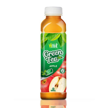 500ml Real Green Tea with Apple juice in Pet bottle