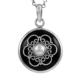 Brilliant pearl, black onyx gemstone pendant online 925 sterling silver jewellery wholesale silver pendants jewellery exporters