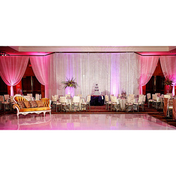 Vertical Banner Strands Pipe And Drape Information Indian Wedding