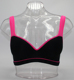 Women's beautiful sexy molded cup yoga sports bra