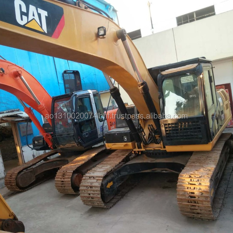 construction machinery CAT 320 D, Original Caterpillar 320 D ,used Caterpillar 320 D Excavator