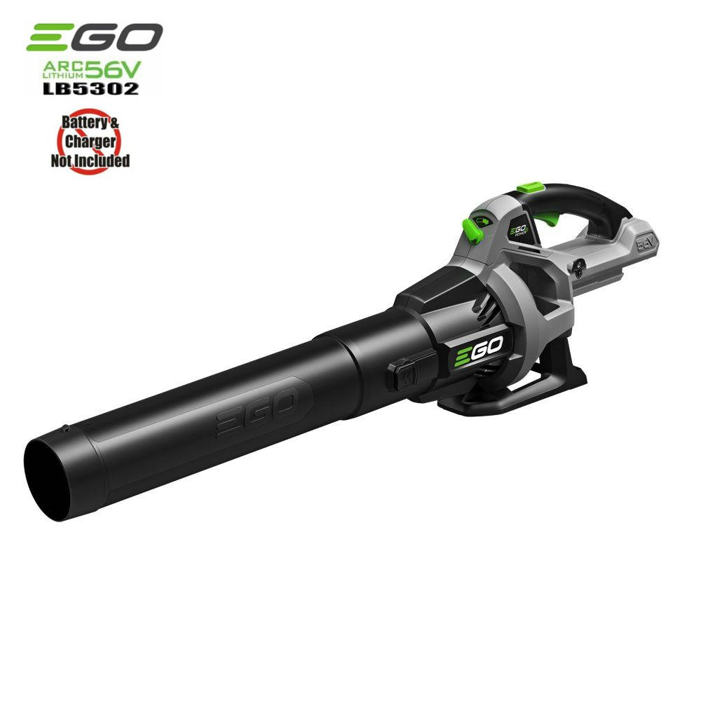 EGO Power+ 110 MPH 530 CFM Variable-Speed Turbo 56-Volt Lithium-ion Cordless Electric Blower - Battery and Charger Not Included