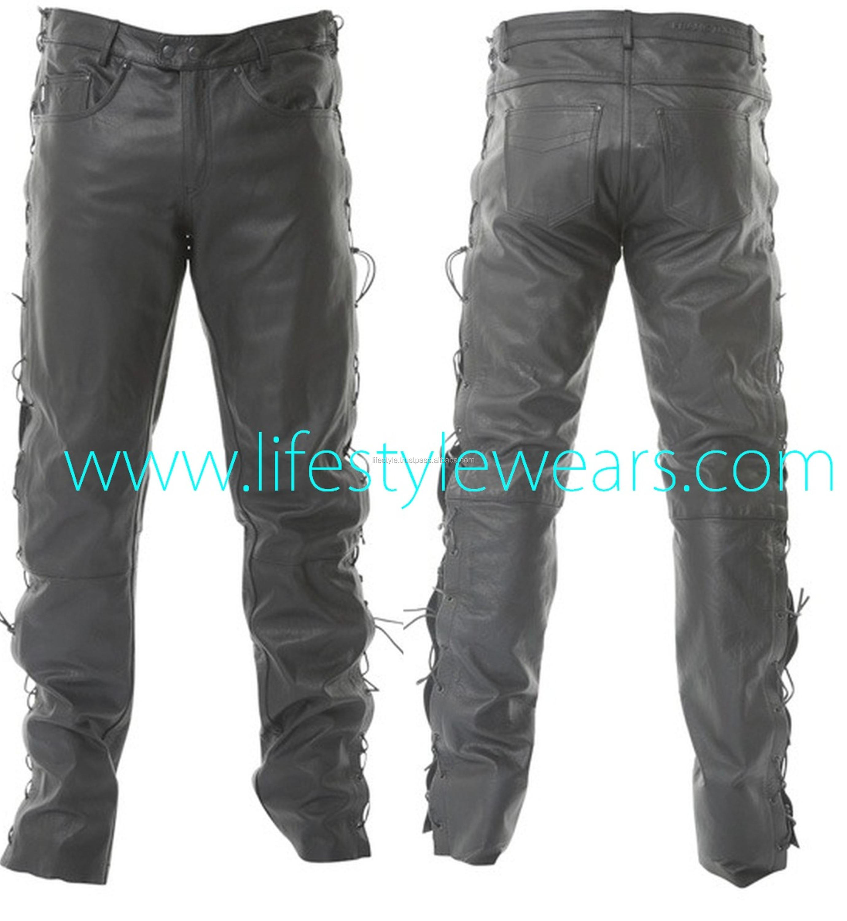 Heavy Fetish Leather Pants Vintage Leather Pants Genuine Leather Pants Mens Brown Leather Pants Gay Leather