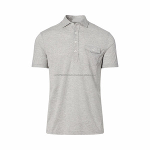 Wholesale 100% Cotton Fashion Polo T Shirt Tee Shirt for Men Cheap Custom Fashion Dry Fast Cotton Polo T Shirt