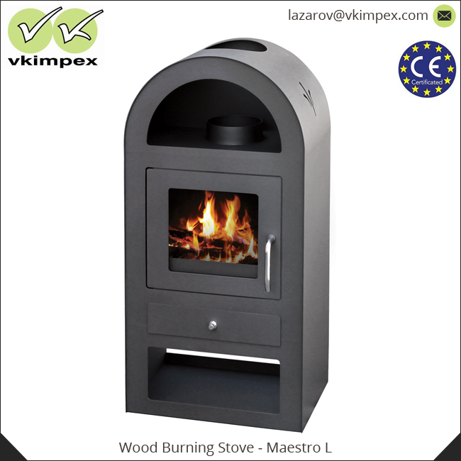 European Quality Wood Burning Stove With Oven High Efficiency