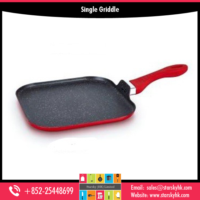 Aluminum Cast Iron Griddle Pan for Sale