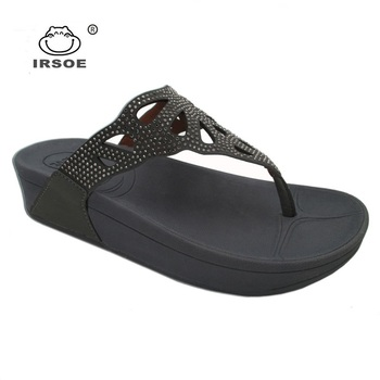 ab92d28e2e8 new model IRSOE ladies high heel platform beach zoris sandalsMOQ  480  Pairs 3.60 -  5.60  Pair