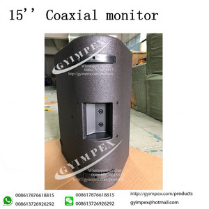 15'' 2-way coaxial enclosure full range Stage Monitor speaker LA- X15 HIQ