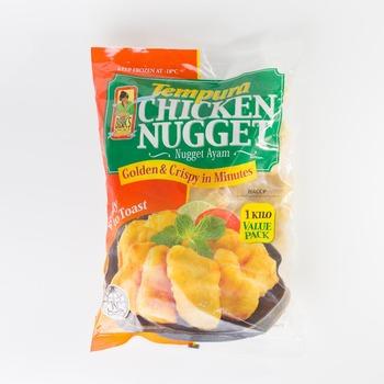 Singapore Food Suppliers Tempura Chicken Nugget - Buy Singapore,Tempura  Chicken Nugget,Frozen Finger Food Product on Alibaba com
