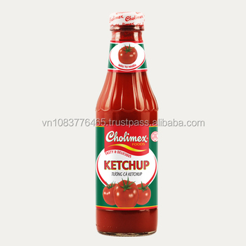 Wholesale Vietnamese ketchup 340g_glass bottle
