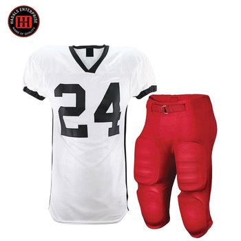 Professional American football uniform