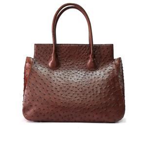 10b220adbff3 Pesus Genuine Ostrich Leather Handbag for Women