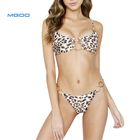 MGOO leopard swimwear one piece bathing suits swimsuit sexy mature women extreme bikini
