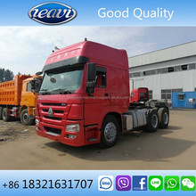Used/second hand Howo tractor truck head, Sinotruk Howo tractor truck for sale
