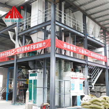 Full automatic 5 ton poultry feed production line