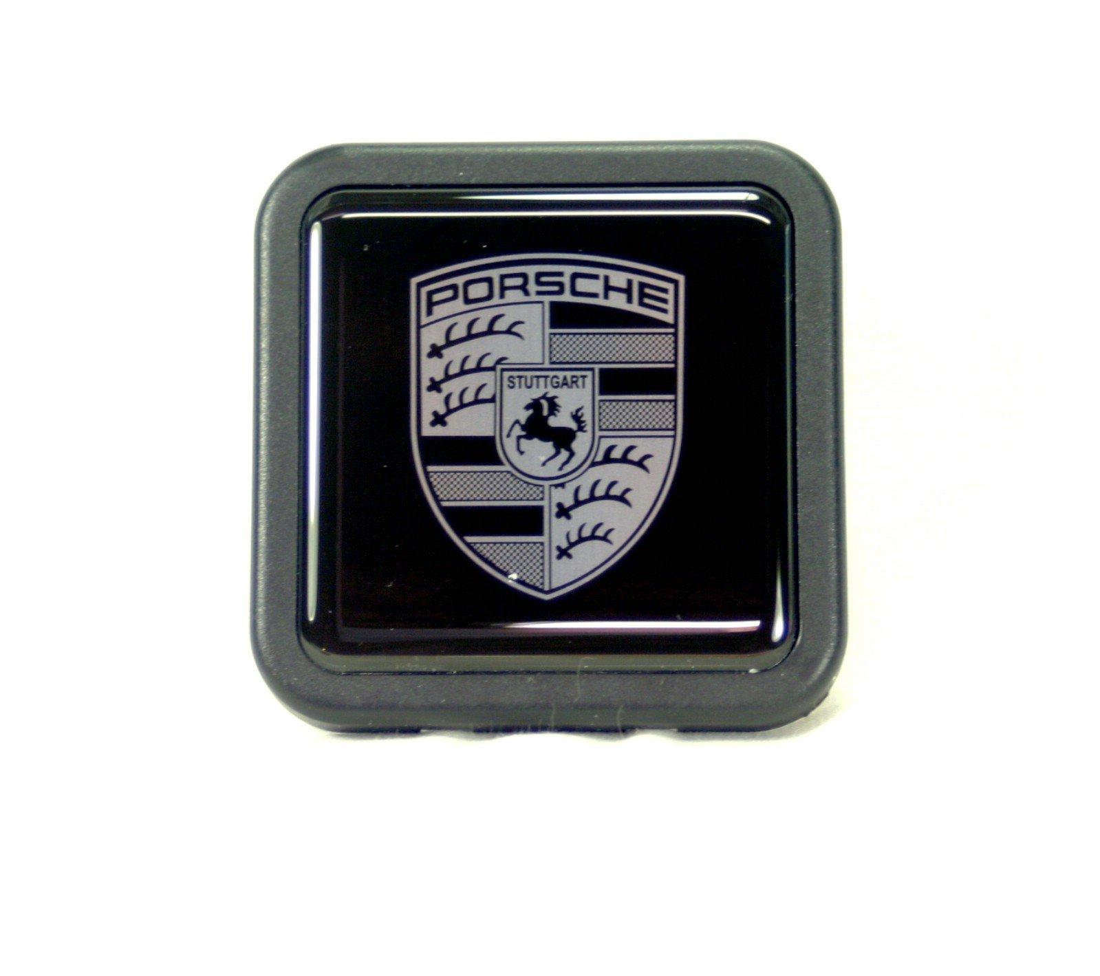 Porsche Cayenne Black Tow Hitch Cover