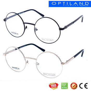 Round Metal Eyewear Oval Frame Glasses Europe Quality Design Low ...