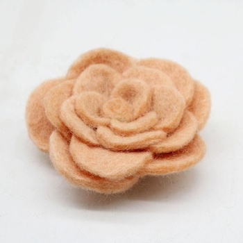 Eco-friendly NZ Wool Felt Flowers, Gifts for Home & Festive Decorations, Souvenir Crafts of Nepal Hand-felted by Women Artisans