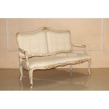 Antique Reproduction Furniture Willow Sofa 2 Seater Indonesia