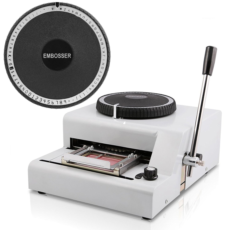 Amazon. Com: ovovo embossing machine 72 character letters embosser.