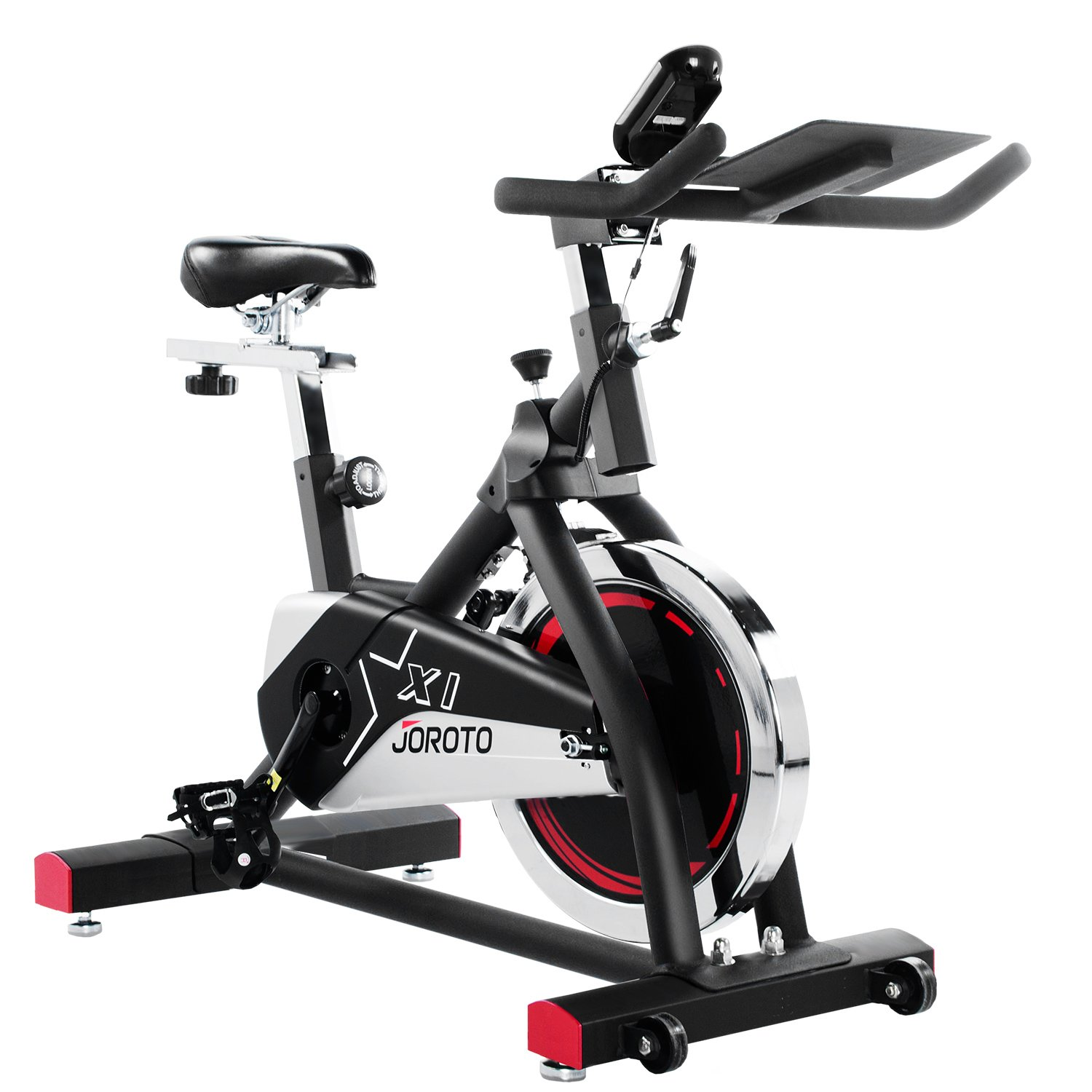 Exercise Bike Indoor Cycle Trainer - JOROTO X1S Workout Cycling Bicycle Exercise Stationary Bike Machine for Home Cycle