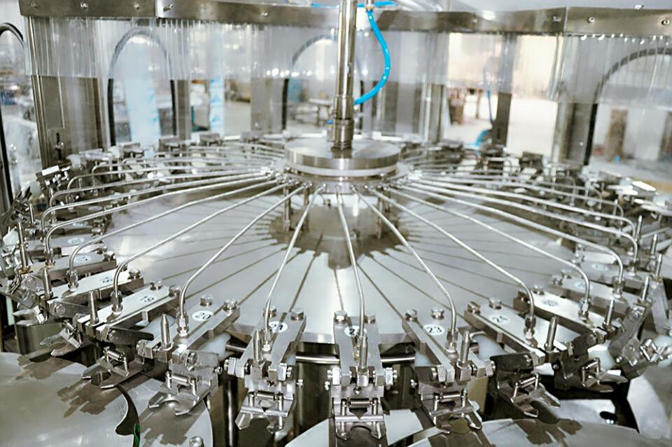 Bere acqua pura linea di produzione di piante/trattamento delle acque di minerale/acqua pura in bottiglia che fa la macchina