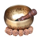 Hand Hammered Art Tibetan Singing Bowl For Meditation and Yoga