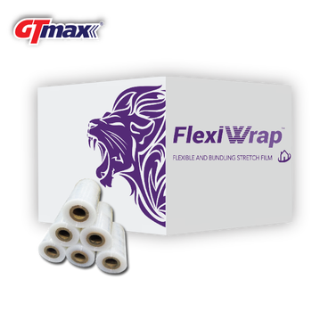 FlexiWrap Mini Roll Stretch Films with core (packaging used) GT-MAX
