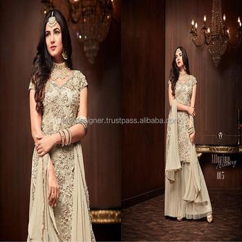 f7b0dd81d Heavy Work Sharara Suit Online - Buy Dressses Online