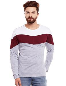 Men's Full Sleeve Round Neck Cotton T-Shirt